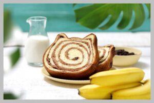 ねこねこ食パン チョコバナナ